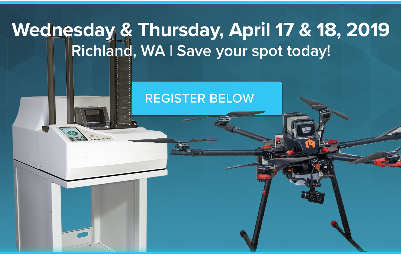 Wednesday & Thursday, April 17 & 18, 2019  Richland, WA   Save your spot today!